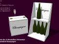Caisse 12 bouteilles - Présentoir