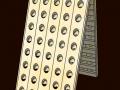 Pupitre 2x40 trous