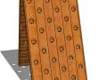 Pupitre 2x30 trous