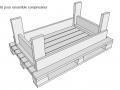 Palette pour ensemble compresseur
