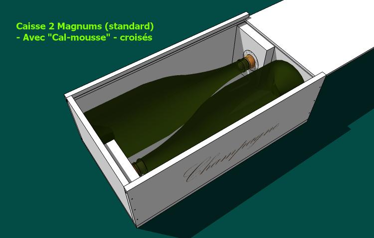 Caisse 2 magnums