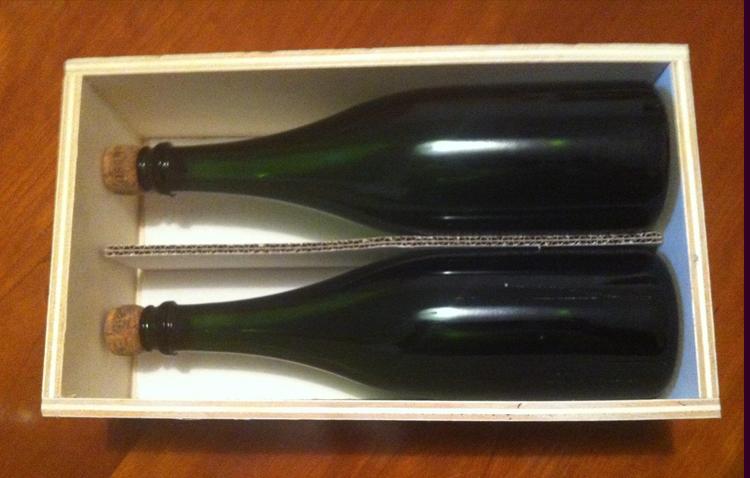 Caisse 2 bouteilles