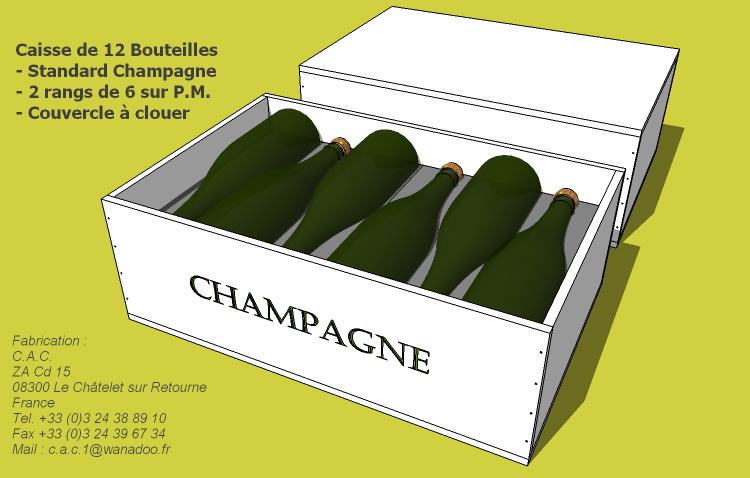 Caisse 12 bouteilles